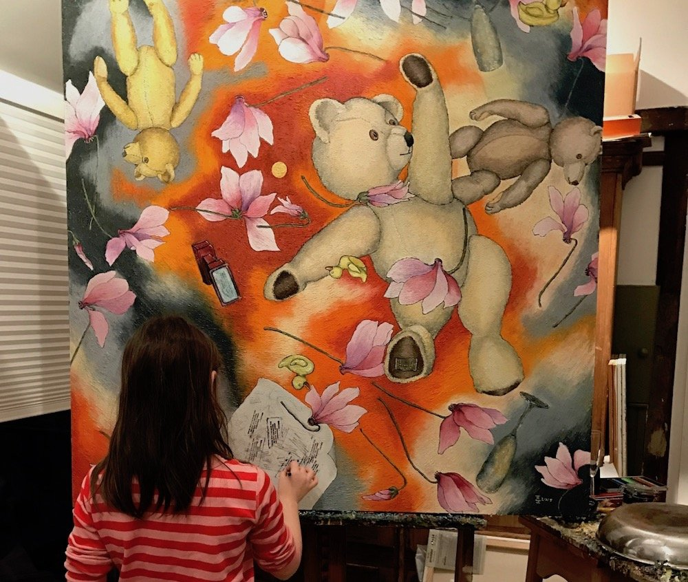 The Story of a Painting about God, a Granddaughter and a Moment of Ultimate Joy