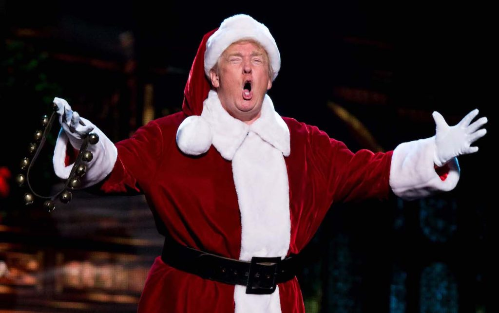 Christmas with Trump